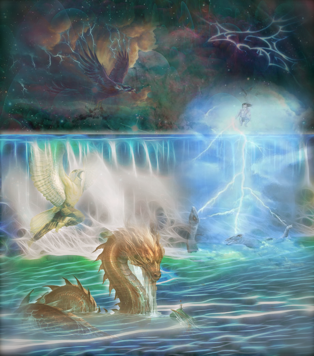Niagara Falls: The Cosmic Crossing & The Rainbow Bridge Between Realms