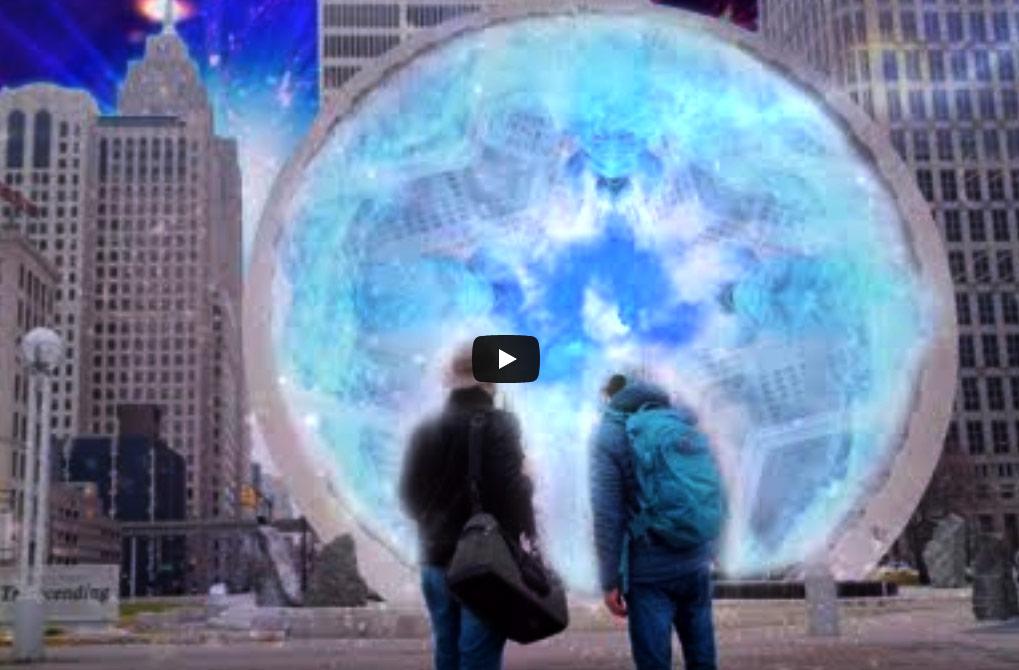 'Mystic Michigan' Stargate Detroit, Television Segment